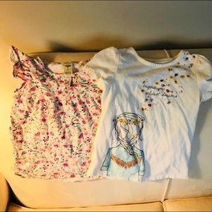 Girl's summer tops. Size 5